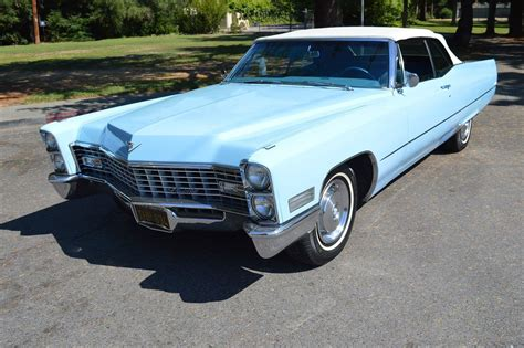 67 Cadillac Convertible by 1967 Cadillac Convertible Venetian Blue Automatic