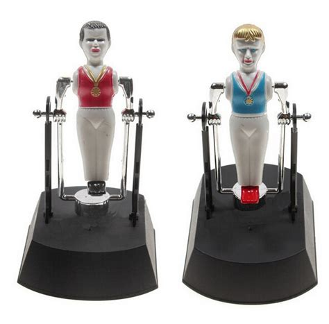 desk toys for office gymnastics kinetic perpetual motion machine