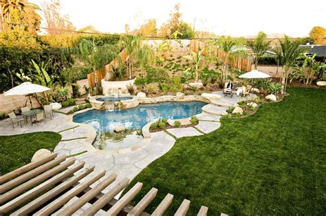 tropical backyard design ideas southern california landscaping simi valley ca photo