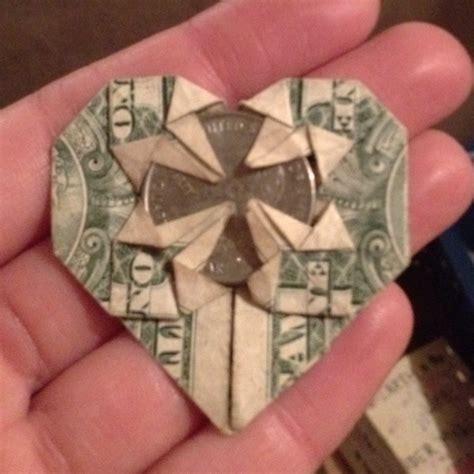 money origami with quarter 156 best money oragami images on money origami