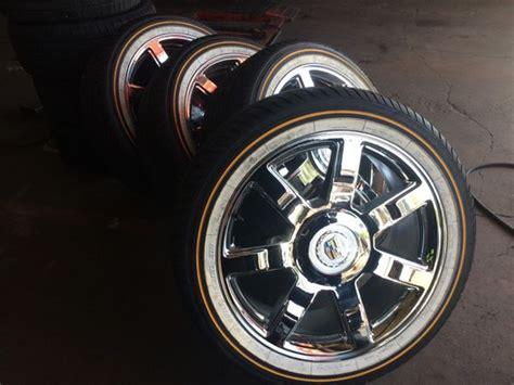 Used Cadillac Rims by 285 45 22 Vogue Tires 22inch Cadillac Rims Cars