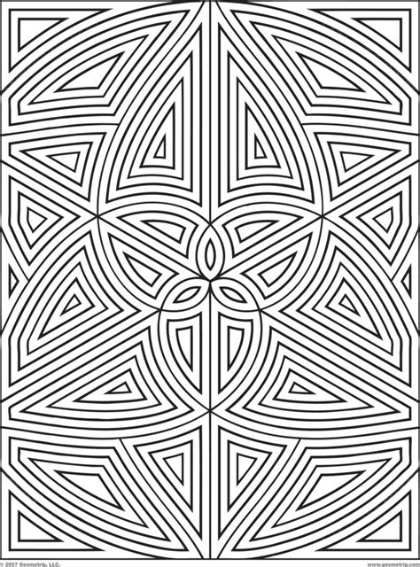 designs for adults coloring pages geometric designs coloring pages design
