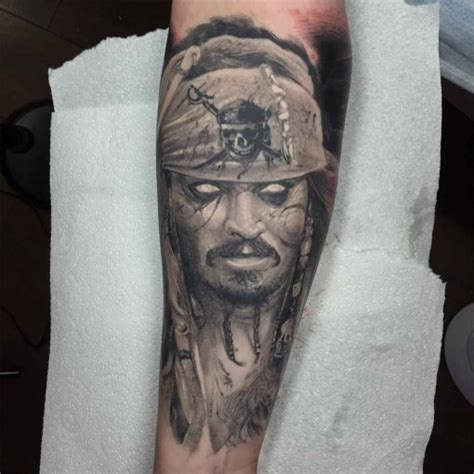 undead jack sparrow tattoo best tattoo ideas gallery