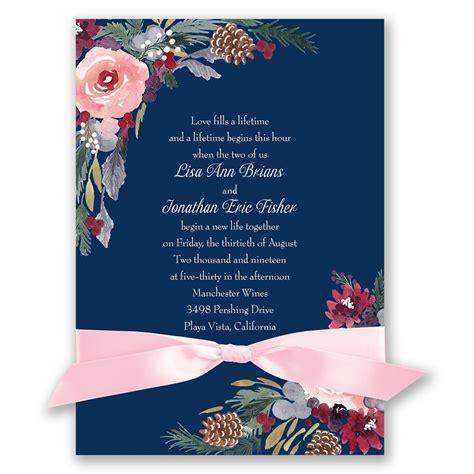 invitation to a bold blooms invitation invitations by