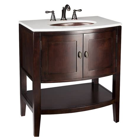 lowes bathroom vanity with sink shop allen roth renovations merlot undermount single