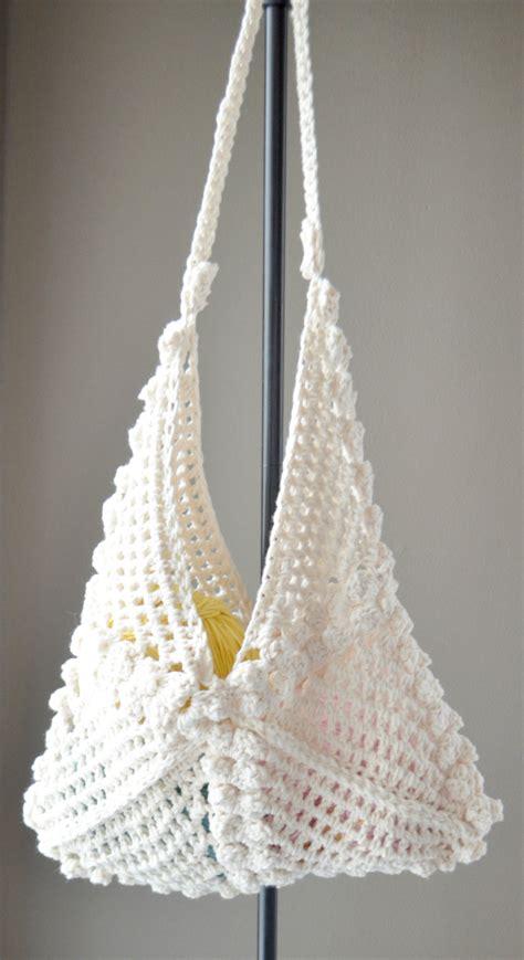 crochet bags with crochet pattern hobo bag crochet bag by cassjamesdesigns