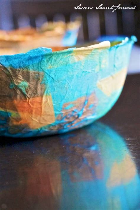 paper mache crafts for preschoolers paper crafts diy paper mache bowls