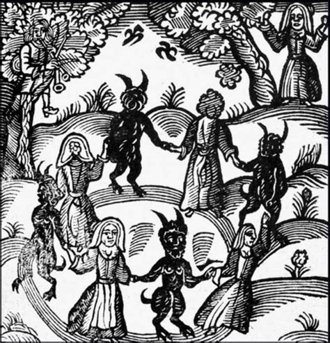 picture book of devils demons and witchcraft devils witches