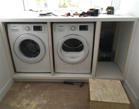 Tafel Wasmachine Ikea by Wasmachine Ombouw Badkamer Pinterest Zolder Kleine
