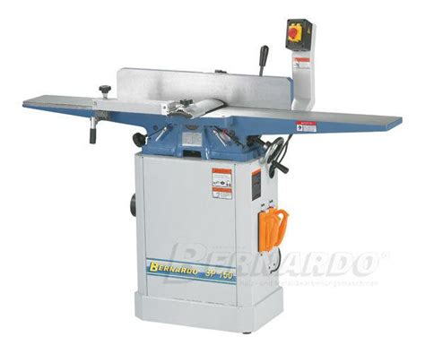 bernardo woodworking machines surface planer jointer bernardo sp 150 joinery