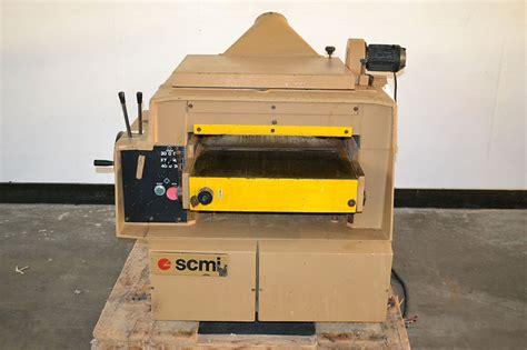 scmi woodworking scmi s63 24 quot x 9 quot knife planer the equipment hub