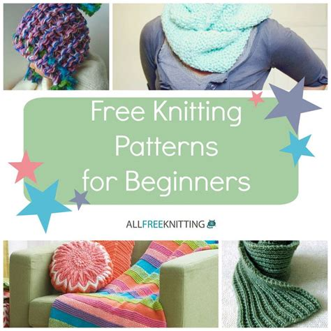 how to knit a shape for beginners 68 best images about free knitting patterns for beginners