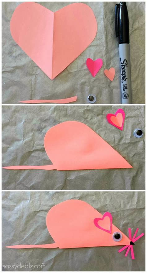 mouse craft for list of easy s day crafts for crafty morning