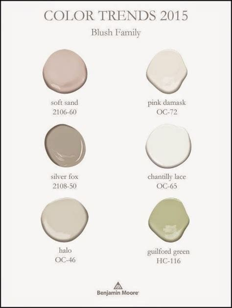 best behr paint colors 2015 benjamin color trends 2015 blush family guilford