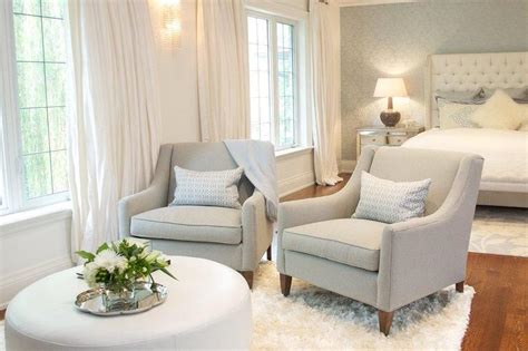 bedroom sitting area furniture bedroom sitting area with gray chairs and white ottoman