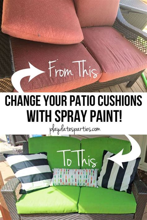 spray painting outdoor cushions the o jays spray painting and cushions on