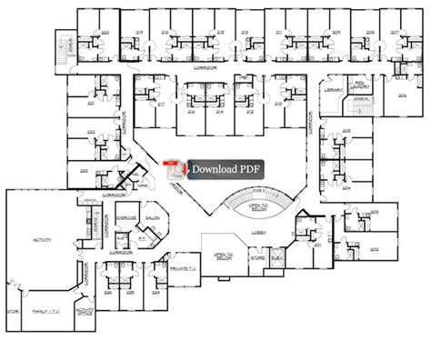 floor plans for assisted living facilities court assisted living assisted living floor
