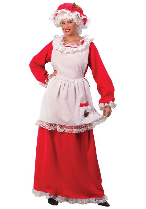 buy santa claus costume mrs claus costume