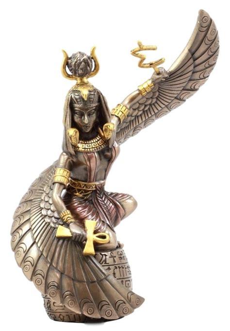 Ancient Egyptian Home Decor egyptian goddess of magic amp motherhood isis ra holding