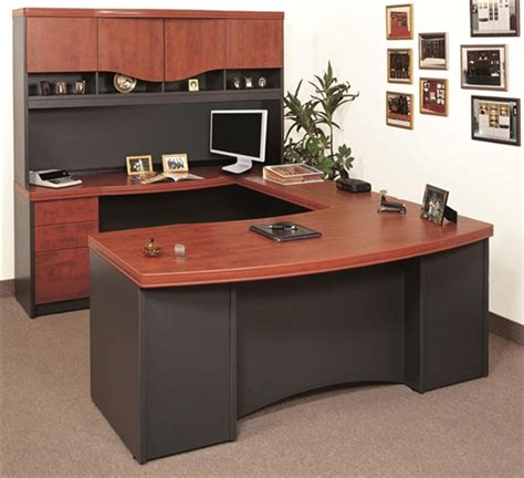 office u shaped desk deluxe manhattan series u shaped desk candex complete