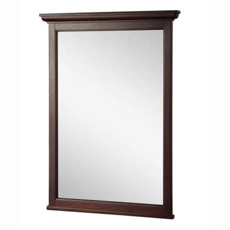 home depot bathroom vanity mirrors foremost ashburn 31 in l x 24 in w wall mirror in