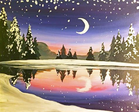 Canvas Painting Class At Muse Paintbar Woodbridge
