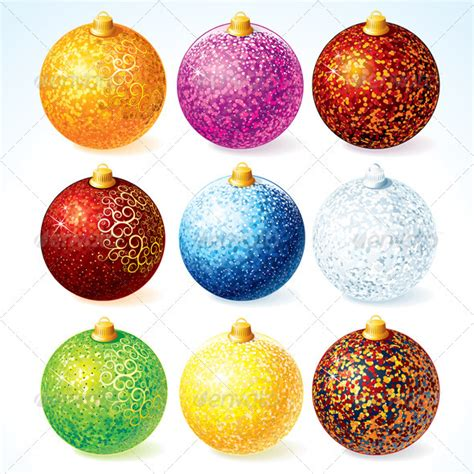 christmas baubles graphicriver