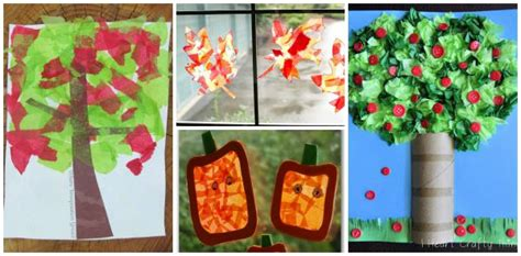 tissue paper crafts for preschoolers 12 fall crafts for using tissue paper where