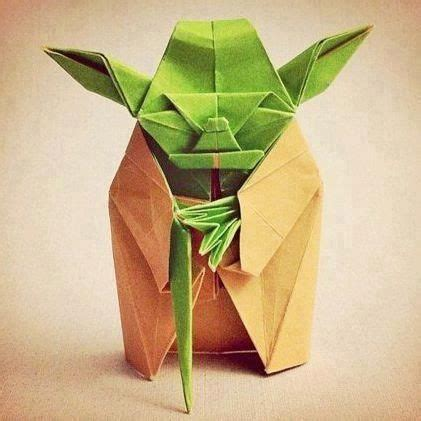tough origami origami yoda difficult to fold it must be starwars