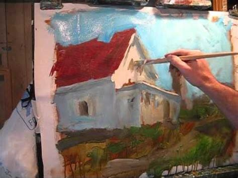 acrylic painting demonstration acrylic landscape painting demonstration interesting