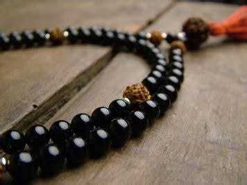 choosing mala black onyx and rudraksha mala japa mala