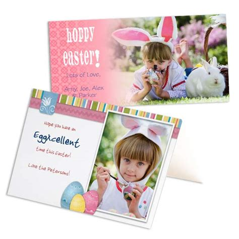 make a personalised card custom easter cards easter photo cards winkflash