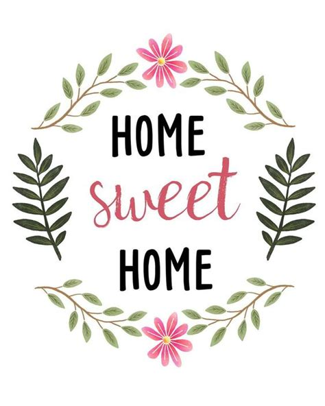 home sweet home decorations sweetdailiness free home sweet home printable