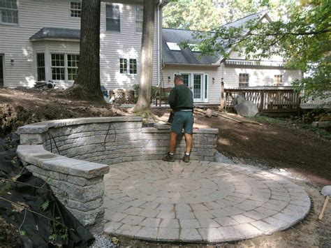 how to do paver patio do it yourself paver patio installation a idea