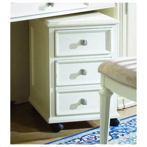 white file cabinet wood american drew camden mobile 2 drawer lateral wood file cabinet antique white traditional