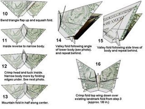 dollar bill origami diagrams origami money origami and note on