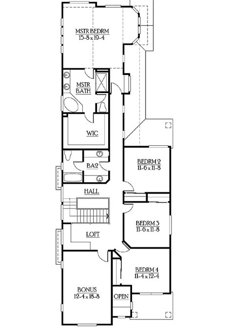 floor plans for narrow lots floor plans narrow lot homes homes floor plans