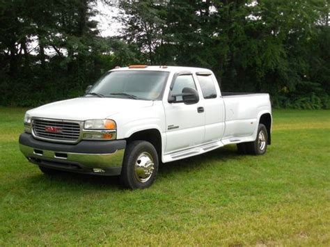 how cars engines work 2001 gmc sierra 3500 parking system sell used 2001 gmc sierrs 3500 dually duramax diesel in greenwood indiana united states for