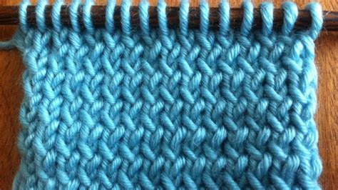 how to back stitch knitting how to knit through the back loop new stitch a day