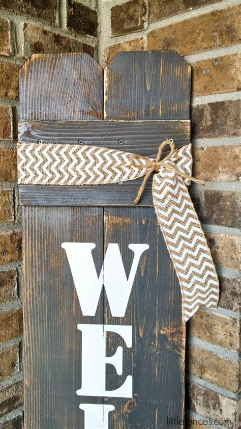 front door welcome signs best 25 wooden welcome signs ideas only on