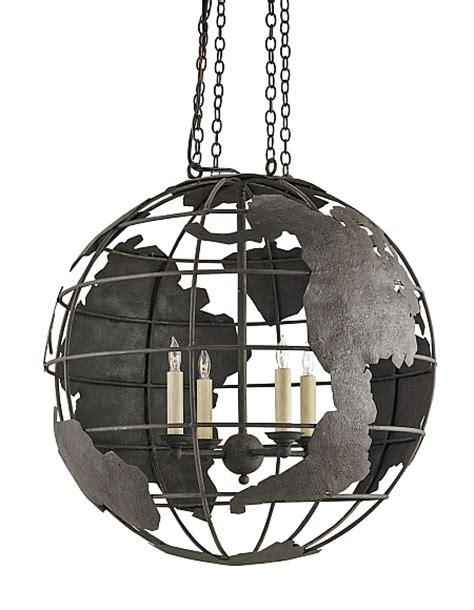 globe pendant chandelier world globe black pendant chandelier the designer insider