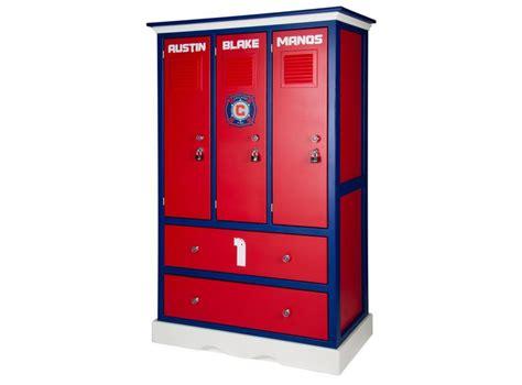 locker room bedroom furniture childern s locker style dresser sports themed furniture