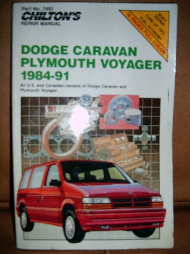 automotive repair manual 1995 plymouth voyager navigation system sell dodge caravan plymouth voyager 1984 thru 1991 chiltons repai manual motorcycle in huntley