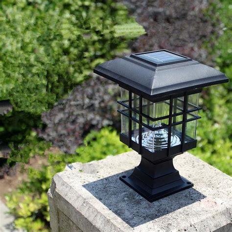 solar column lights outdoor aliexpress buy new arrival solar pillar l outdoor