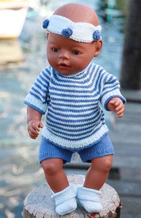 how to knit doll clothes free knitting patterns doll clothes browse patterns
