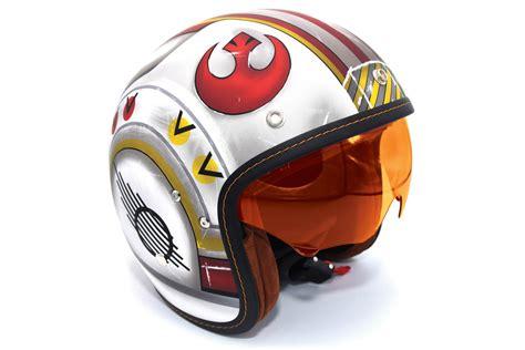 Motorradhelm Star Wars by Hjc Star Wars Collection Adds Luke Skywalker X Wing Helmet