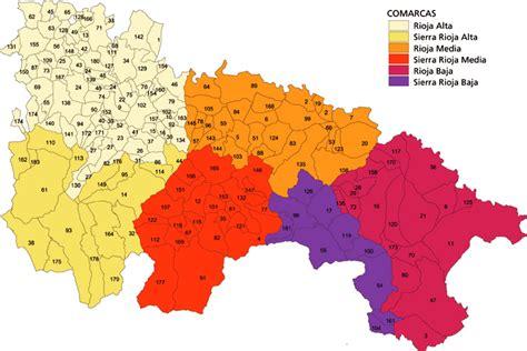 catastro burgos oficina virtual mapa de la rioja comarcas y municipios agricultura