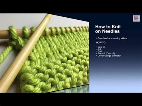 how to cast on knitting beginners how to knit cast on beginner with closed captions