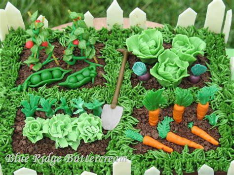 the vegetable garden vegetable garden cake blue ridge buttercream