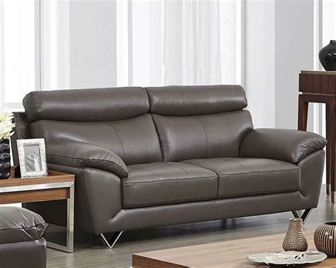 leather sofa colors modern leather sofa in grey color esf8049s
